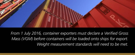 SOLAS Verified Export Container Weights Business Forums