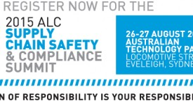 Have you reserved your seat at the upcoming ALC Supply Chain Safety and Compliance Summit?