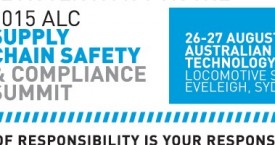 LAST CHANCE TO REGISTER for the ALC Supply Chain Safety & Compliance Summit