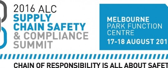 SAVE THE DATE FOR THE 2016 ALC SUPPLY CHAIN SAFETY & COMPLIANCE SUMMIT