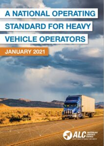 National Operating Standard Policy cover