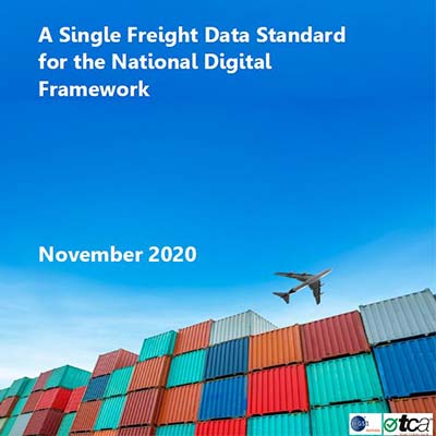 A Single Freight Data Standard Policy