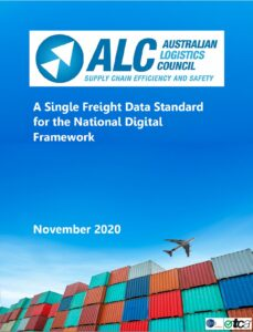 A Single Freight Data Standard COVER